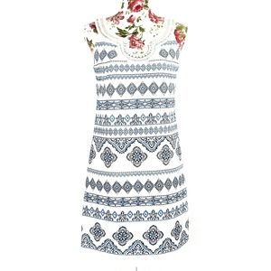 WHBM | Beaded and Embroidered Dress Size 0